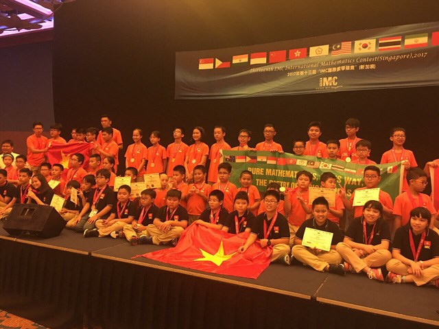VN win eight gold medals at int'l maths competition, Vietnam education, Vietnam higher education, Vietnam vocational training, Vietnam students, Vietnam children, Vietnam education reform, vietnamnet bridge, english news, Vietnam news, news Vietnam, vietn