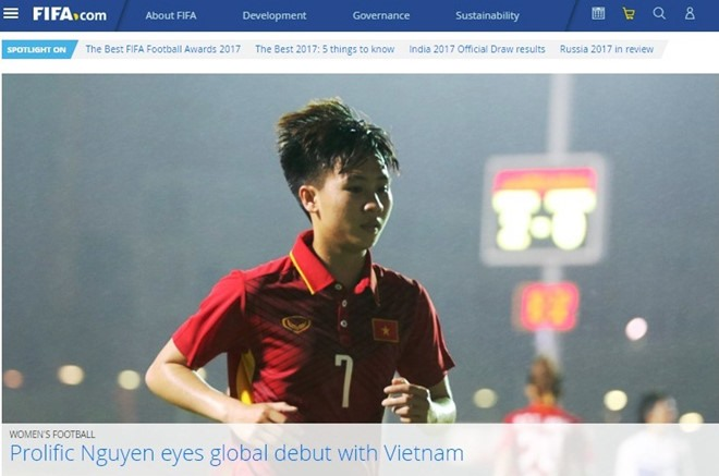 FIFA all praise for Vietnam midfielder Dung, Sports news, football, Vietnam sports, vietnamnet bridge, english news, Vietnam news, news Vietnam, vietnamnet news, Vietnam net news, Vietnam latest news, vn news, Vietnam breaking news