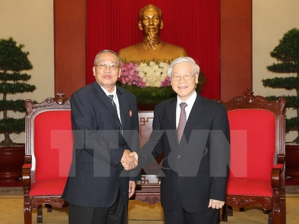 Vietnam treasures ties with Cambodia: Party chief, Government news, Vietnam breaking news, politic news, vietnamnet bridge, english news, Vietnam news, news Vietnam, vietnamnet news, Vietnam net news, Vietnam latest news, vn news