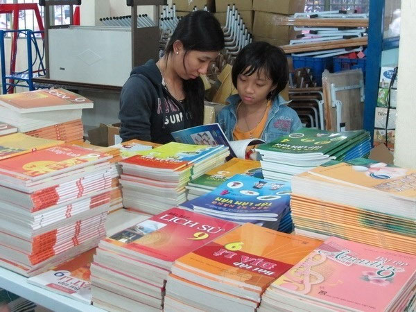 School year, textbooks printed, illegal printing of textbooks, Vietnam economy, Vietnamnet bridge, English news about Vietnam, Vietnam news, news about Vietnam, English news, Vietnamnet news, latest news on Vietnam, Vietnam