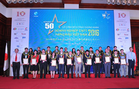 VINASA's programme honours top 50 IT firms, vietnam economy, business news, vn news, vietnamnet bridge, english news, Vietnam news, news Vietnam, vietnamnet news, vn news, Vietnam net news, Vietnam latest news, Vietnam breaking news