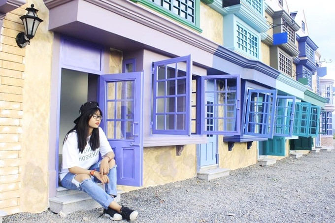 Colourful villas in Nha Trang, new attraction for youth, travel news, Vietnam guide, Vietnam airlines, Vietnam tour, tour Vietnam, Hanoi, ho chi minh city, Saigon, travelling to Vietnam, Vietnam travelling, Vietnam travel, vn news