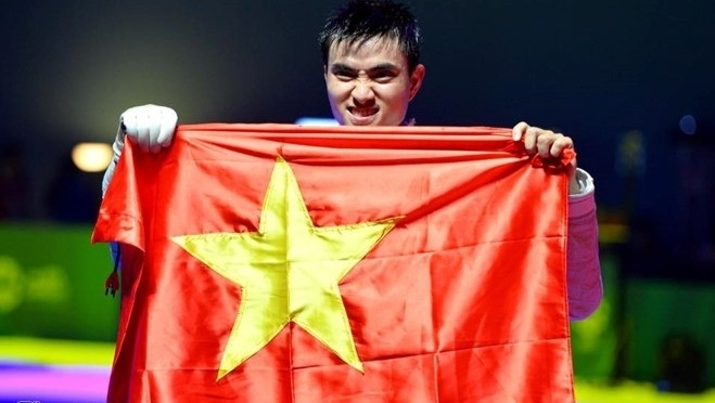 Fencer Vu Thanh An named Vietnam's flag bearer at 29th SEA Games, Sports news, football, Vietnam sports, vietnamnet bridge, english news, Vietnam news, news Vietnam, vietnamnet news, Vietnam net news, Vietnam latest news, vn news, Vietnam breaking news