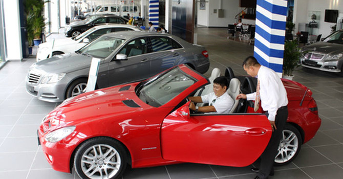 vietnam economy, business news, vn news, vietnamnet bridge, english news, Vietnam news, news Vietnam, vietnamnet news, vn news, Vietnam net news, Vietnam latest news, Vietnam breaking news, VAMA, car sale, Truong Hai, Toyota