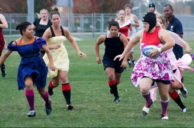 photo of girls playing rugby № 17776