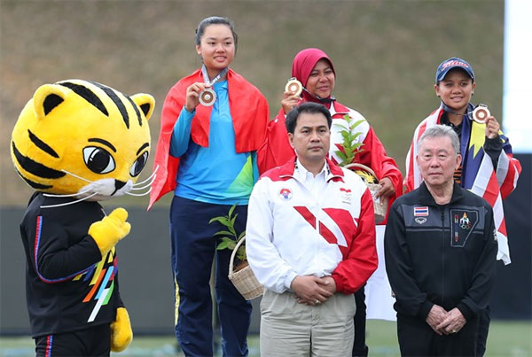 Oanh wins first medal for Viet Nam at SEA Games