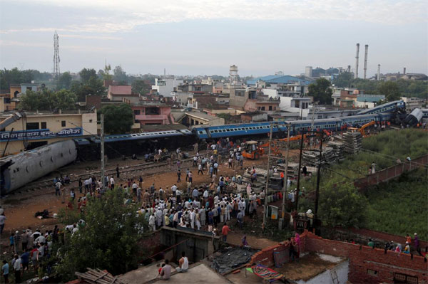 India, train accident, train crash