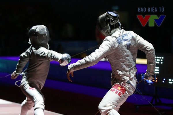SEA Games 29, fencer Vu Thanh An, a gold medal, Vietnam economy, Vietnamnet bridge, English news about Vietnam, Vietnam news, news about Vietnam, English news, Vietnamnet news, latest news on Vietnam, Vietnam