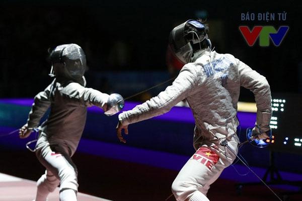 SEA Games 29, fencer Vu Thanh An, a gold medal, Vietnam economy, Vietnamnet bridge, English news about Vietnam, Vietnam news, news about Vietnam, English news, Vietnamnet news, latest news on Vietnam, Vietnam