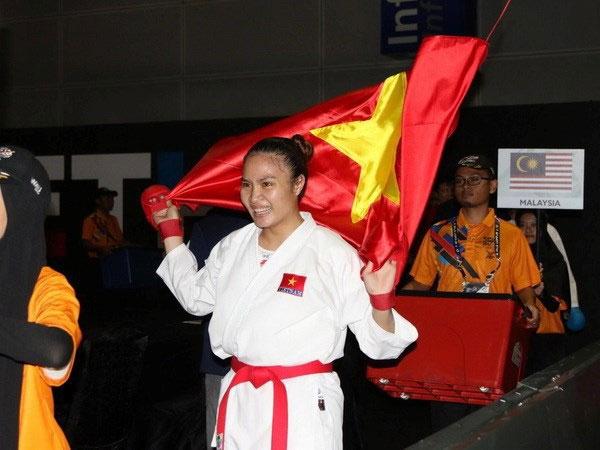 Karate athlete brings home gold