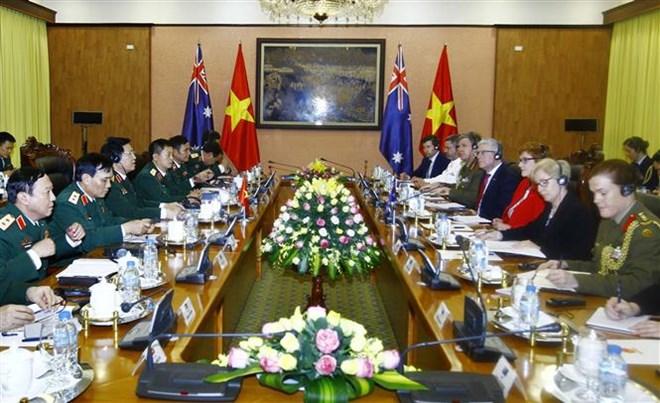 Vietnamese, Australian defence ministers hold talks, Government news, Vietnam breaking news, politic news, vietnamnet bridge, english news, Vietnam news, news Vietnam, vietnamnet news, Vietnam net news, Vietnam latest news, vn news