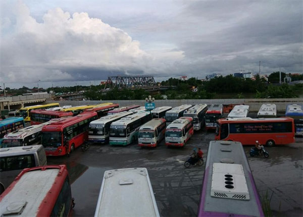 Hai Phong: Bus operators object to moving to new station