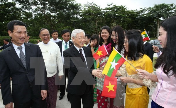 Party chief's visits create new momentum for ties with Indonesia, Myanmar, Government news, Vietnam breaking news, politic news, vietnamnet bridge, english news, Vietnam news, news Vietnam, vietnamnet news, Vietnam net news, Vietnam latest news, vn news