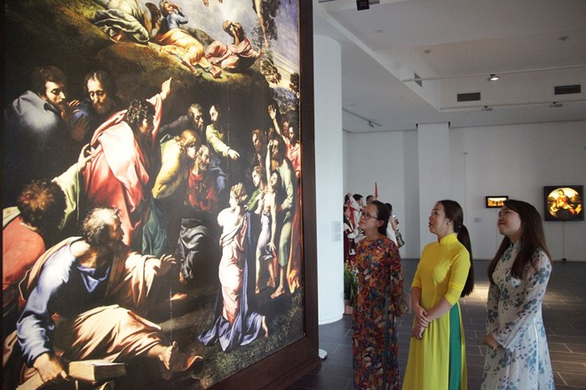 Raffaello masterpieces showcased in HCM City