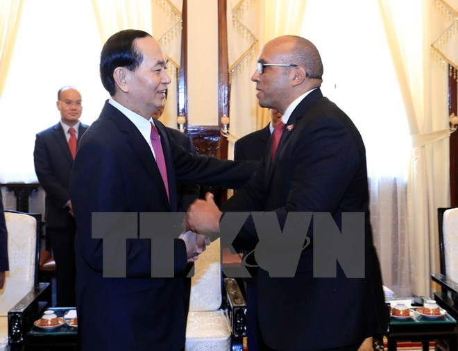 President Tran Dai Quang receives outgoing Cuban ambassador, Government news, Vietnam breaking news, politic news, vietnamnet bridge, english news, Vietnam news, news Vietnam, vietnamnet news, Vietnam net news, Vietnam latest news, vn news
