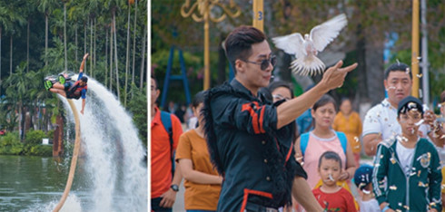National Day kite fest one the most delightful events in HCM City, entertainment events, entertainment news, entertainment activities, what's on, Vietnam culture, Vietnam tradition, vn news, Vietnam beauty, news Vietnam, Vietnam news, Vietnam net news, vi