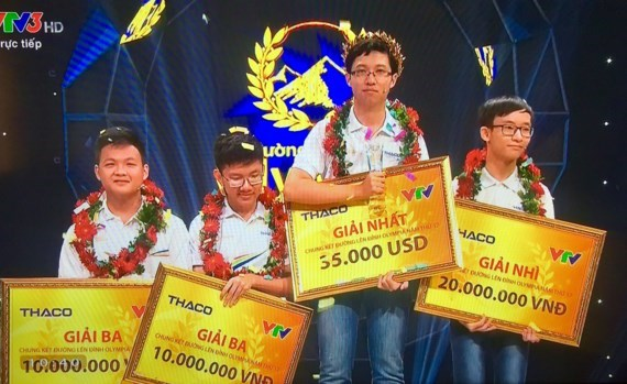 Quang Tri's boy wins Olympia competition 2017, Vietnam education, Vietnam higher education, Vietnam vocational training, Vietnam students, Vietnam children, Vietnam education reform, vietnamnet bridge, english news, Vietnam news, news Vietnam, vietnamnet