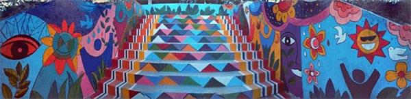 Da Nang's Architecture College,  artist Nguyen Thi Thu Thuy,  painting murals, Vietnam economy, Vietnamnet bridge, English news about Vietnam, Vietnam news, news about Vietnam, English news, Vietnamnet news, latest news on Vietnam, Vietnam