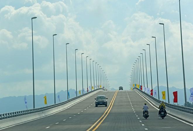 One of longest sea bridges in Southeast Asia opens in Hai Phong, social news, vietnamnet bridge, english news, Vietnam news, news Vietnam, vietnamnet news, Vietnam net news, Vietnam latest news, vn news, Vietnam breaking news