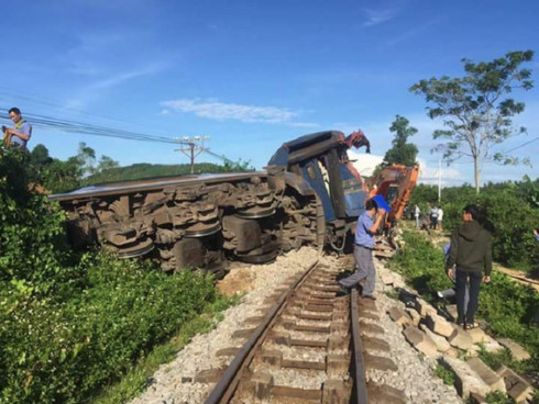 North-South railway resumes operation after derailment, social news, vietnamnet bridge, english news, Vietnam news, news Vietnam, vietnamnet news, Vietnam net news, Vietnam latest news, vn news, Vietnam breaking news