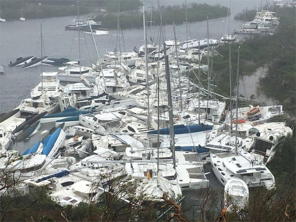 Hurricane Irma, powerful Atlantic storms, Caribbean islands; Florida