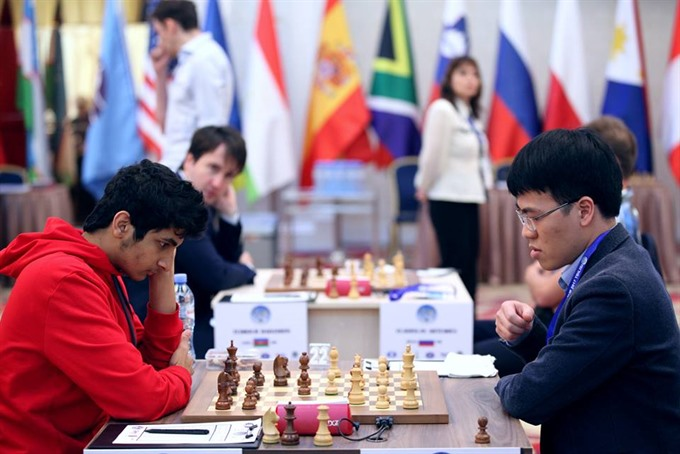 Le Quang Liem at risk of elimination at Chess World Cup, Sports news, football, Vietnam sports, vietnamnet bridge, english news, Vietnam news, news Vietnam, vietnamnet news, Vietnam net news, Vietnam latest news, vn news, Vietnam breaking news