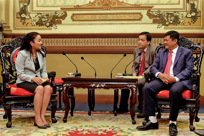 Hanoi, HCM City cement ties with Phnom Penh , Government news, Vietnam breaking news, politic news, vietnamnet bridge, english news, Vietnam news, news Vietnam, vietnamnet news, Vietnam net news, Vietnam latest news, vn news
