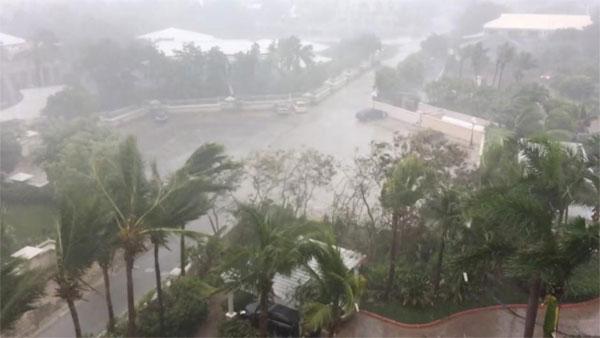 Hurricane Irma, Caribbean, flooding, destroyed