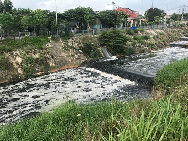 Industrial wastewater, Ba Bo Canal pollution, Vietnam economy, Vietnamnet bridge, English news about Vietnam, Vietnam news, news about Vietnam, English news, Vietnamnet news, latest news on Vietnam, Vietnam
