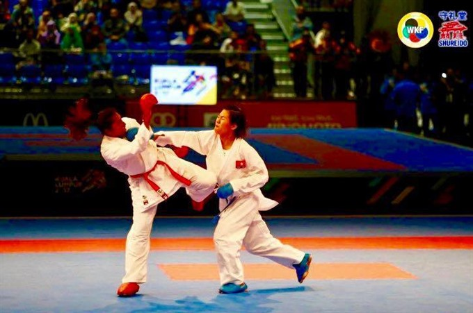 Vietnam wins milestone title at Karate 1-Premier League, Sports news, football, Vietnam sports, vietnamnet bridge, english news, Vietnam news, news Vietnam, vietnamnet news, Vietnam net news, Vietnam latest news, vn news, Vietnam breaking news