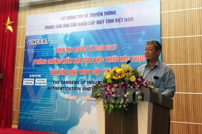 Vietnam holds ASEAN CERT Incident Drill, IT news, sci-tech news, vietnamnet bridge, english news, Vietnam news, news Vietnam, vietnamnet news, Vietnam net news, Vietnam latest news, Vietnam breaking news, vn news