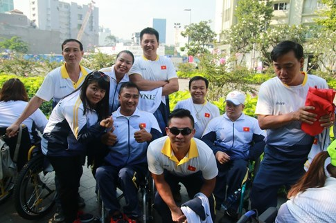 Physically-challenged athletes head for ninth ASEAN Para Games, Sports news, football, Vietnam sports, vietnamnet bridge, english news, Vietnam news, news Vietnam, vietnamnet news, Vietnam net news, Vietnam latest news, vn news, Vietnam breaking news