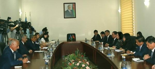 Vietnam, Azerbaijan eye stronger cooperation, Government news, Vietnam breaking news, politic news, vietnamnet bridge, english news, Vietnam news, news Vietnam, vietnamnet news, Vietnam net news, Vietnam latest news, vn news