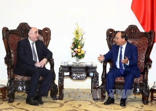 PM: Vietnam treasures traditional relations with Azerbaijan, Party official receives Azerbaijani Foreign Minister, Seminar highlights 25 years of Vietnam-Azerbaijan ties, Vietnam, Azerbaijan discuss ways for stronger cooperation