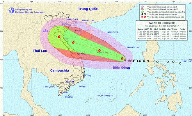 Biggest-ever storm to hit Vietnam on September 15-16, social news, vietnamnet bridge, english news, Vietnam news, news Vietnam, vietnamnet news, Vietnam net news, Vietnam latest news, vn news, Vietnam breaking news