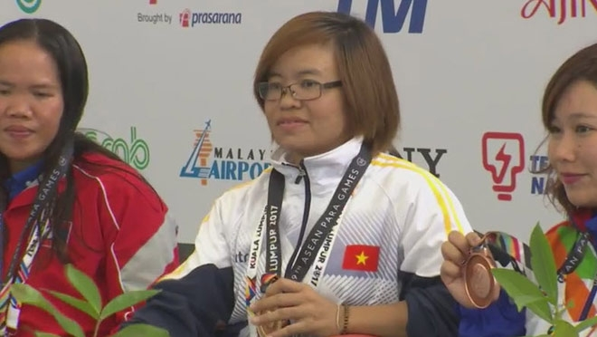 ASEAN Para Games: Vietnam temporarily ranks third with eight golds, Sports news, football, Vietnam sports, vietnamnet bridge, english news, Vietnam news, news Vietnam, vietnamnet news, Vietnam net news, Vietnam latest news, vn news, Vietnam breaking news