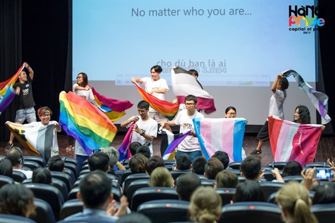 Largest event for LGBTQ community underway in Hanoi, social news, vietnamnet bridge, english news, Vietnam news, news Vietnam, vietnamnet news, Vietnam net news, Vietnam latest news, vn news, Vietnam breaking news