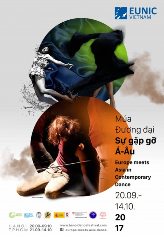 """Dance Festival """"Europe Meets Asia in Contemporary Dance"""" 2017 to come this week"""