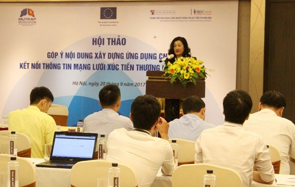 Gov't plans to use IT to connect trade promotion groups