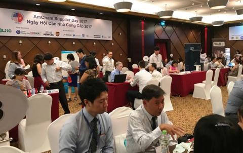 vietnam economy, business news, vn news, vietnamnet bridge, english news, Vietnam news, news Vietnam, vietnamnet news, vn news, Vietnam net news, Vietnam latest news, Vietnam breaking news, Samsung, supporting industries, AmCham
