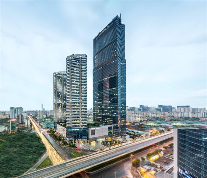IHG opens Vietnam's tallest hotel in Hanoi