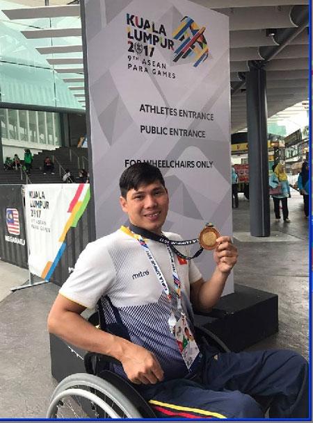 Tung wins ParaGames, Hai claims title hattrick