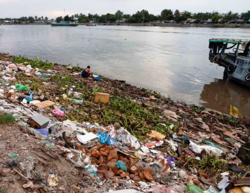 How environmental pollution is ruining the Mekong Delta, Vietnam environment, climate change in Vietnam, Vietnam weather, Vietnam climate, pollution in Vietnam, environmental news, sci-tech news, vietnamnet bridge, english news, Vietnam news, news Vietnam