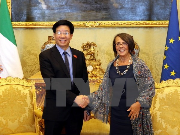 Vietnam's National Assembly promotes ties with Italian parliament