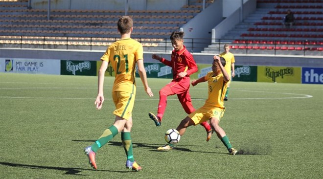 Vietnam loses 1-3 to Australia in AFC U16 qualifier, Sports news, football, Vietnam sports, vietnamnet bridge, english news, Vietnam news, news Vietnam, vietnamnet news, Vietnam net news, Vietnam latest news, vn news, Vietnam breaking news