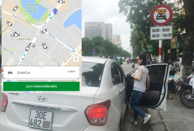 Traditional taxis continue fighting against Uber and Grab, vietnam economy, business news, vn news, vietnamnet bridge, english news, Vietnam news, news Vietnam, vietnamnet news, vn news, Vietnam net news, Vietnam latest news, Vietnam breaking news