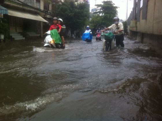 Nearly 18 percent of HCM City area in danger of flooding