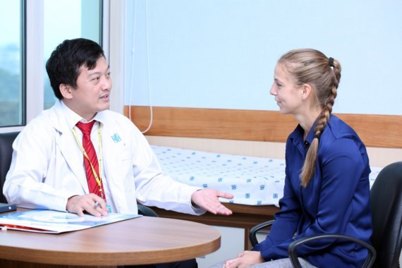 Medicine University Hospital opens rooms to serve foreigners
