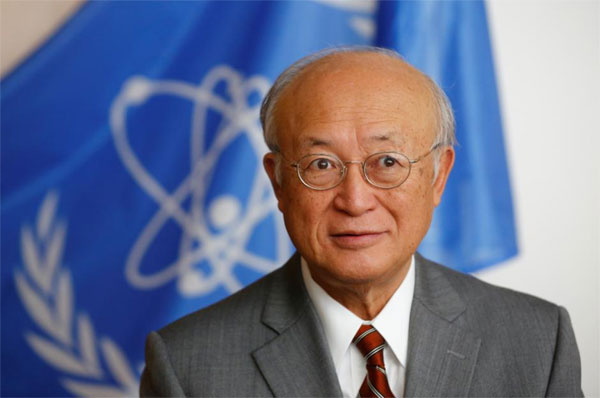 IAEA chief, Iran nuclear deal