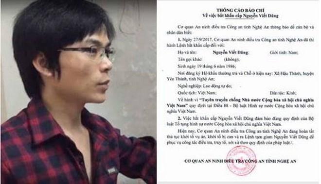 Man arrested for propaganda against State, social news, vietnamnet bridge, english news, Vietnam news, news Vietnam, vietnamnet news, Vietnam net news, Vietnam latest news, vn news, Vietnam breaking news